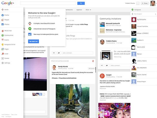 Google+ : une première vue globale