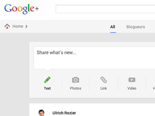 Google+ : une troisième image pour la publication de contenu