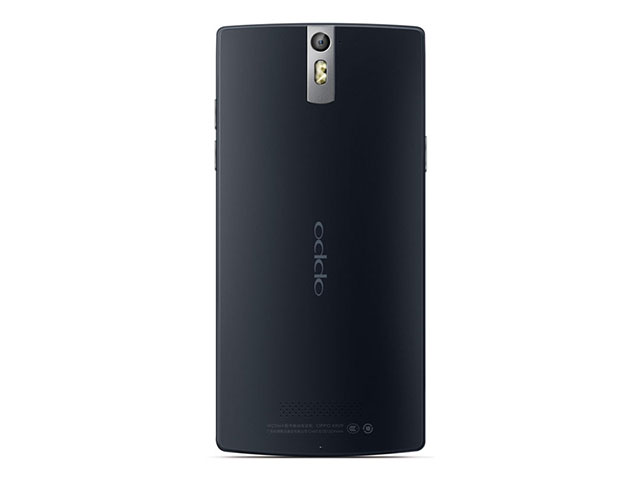 Oppo Find 5 Black : vu de dos