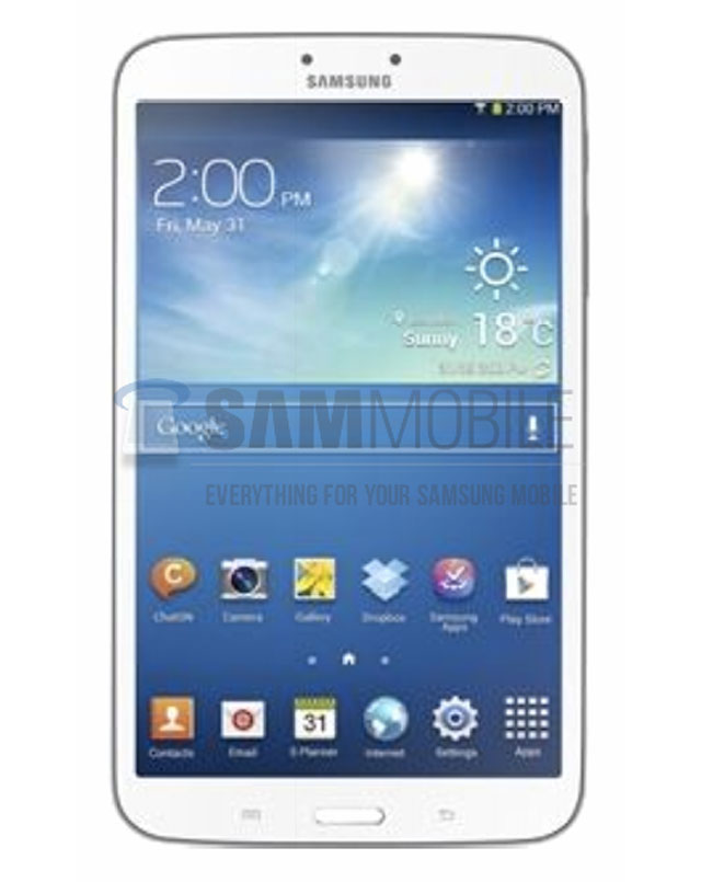 Photo Samsung Galaxy Tab 3 8.0