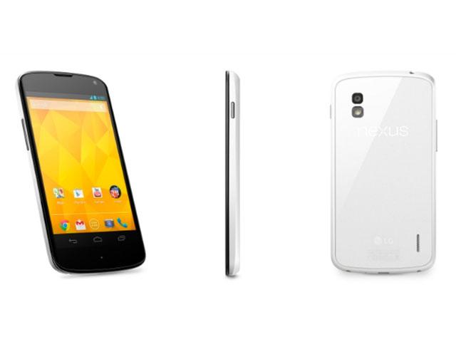 Photos Nexus 4 blanc