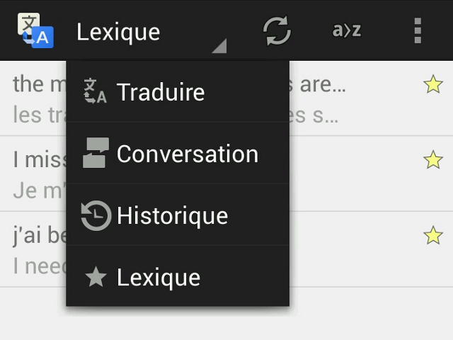 Le phrasebook arrive sur Google Traduction pour Android
