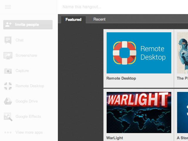 Google+ : du nouveau pour les Hangouts