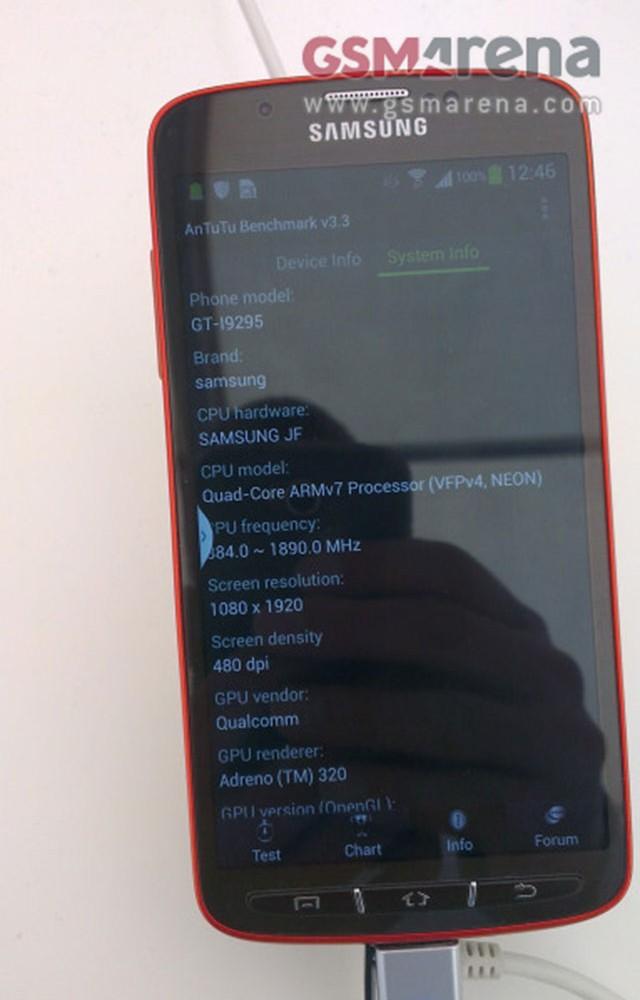 Samsung Galaxy S4 Active : une troisième image