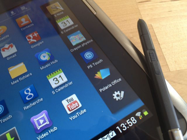 Des nouvelles de la Samsung Galaxy Tab 3 10.1