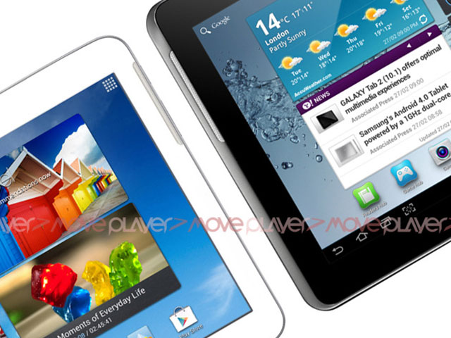 Samsung Galaxy Tab 3 : photo de famille