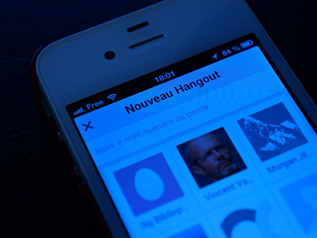 Les SMS bientôt dans Hangouts