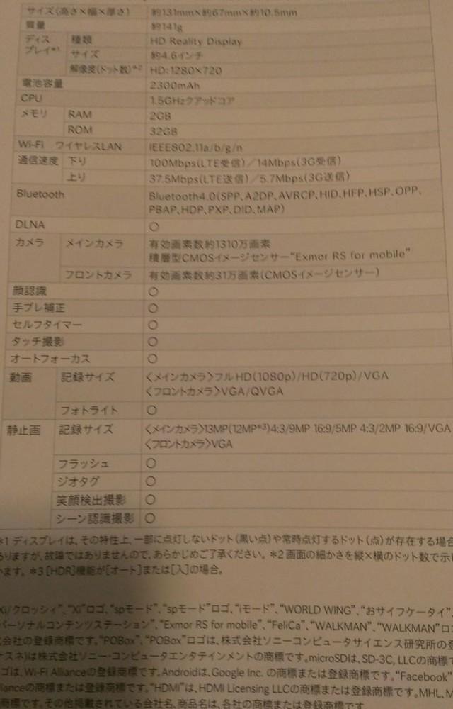 Sony Xperia A : une septième image
