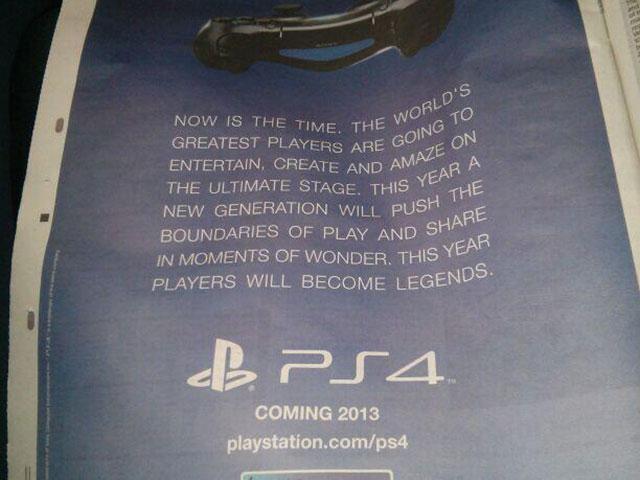 Date de sortie de la PlayStation 4