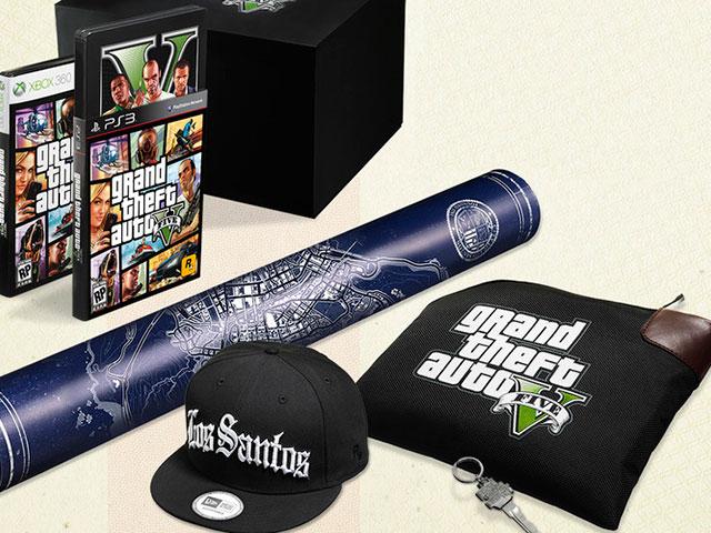 """Les versions """"collector"""" de GTA 5"""