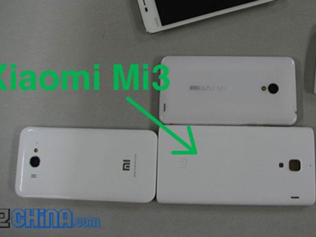 Xiaomi Mi3 : une première image