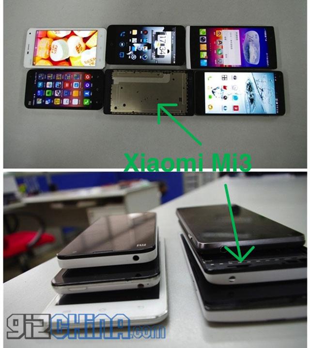 Xiaomi Mi3 : une seconde image