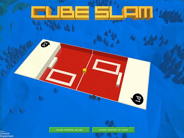 Cube Slam : le jeu de tennis remis au goût du jour