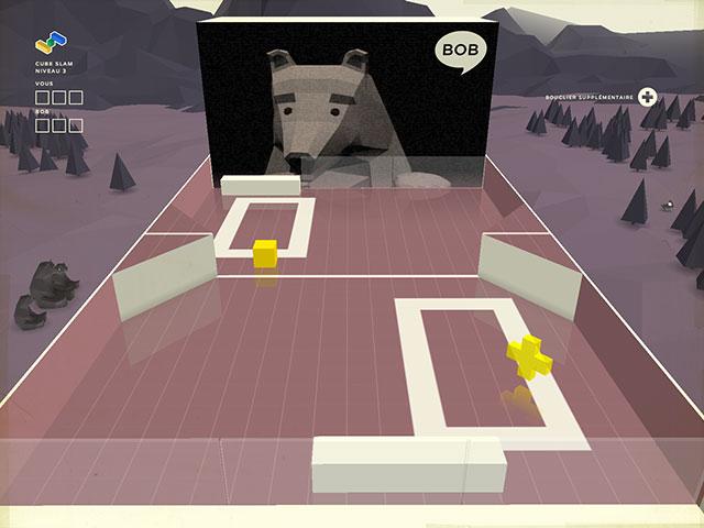 Cube Slam : évolution du terrain
