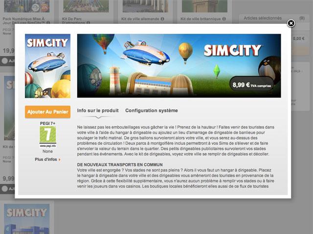 DLC SimCity
