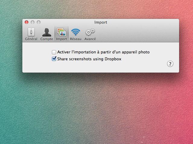 Dropbox : du nouveau pour els captures d'écran