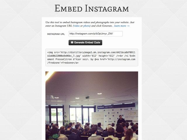 Intégrer facilement une photo ou une vidéo Instagram sur son site