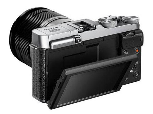 Fujifilm X-M1 : vue de dos