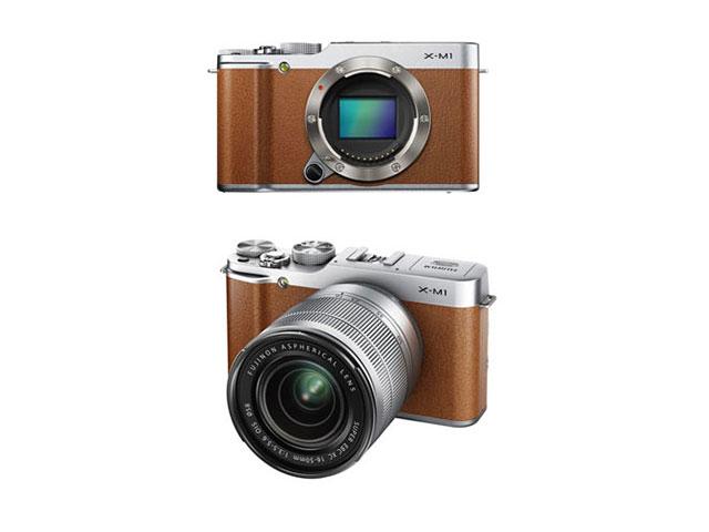 Photo Fujifilm X-M1 marron