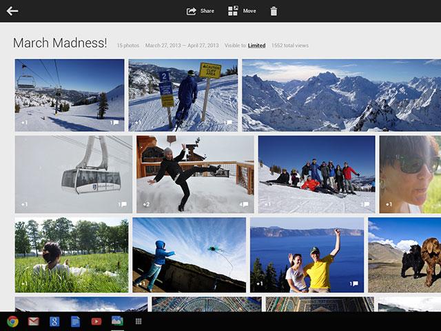 Google+ Photos : une première image