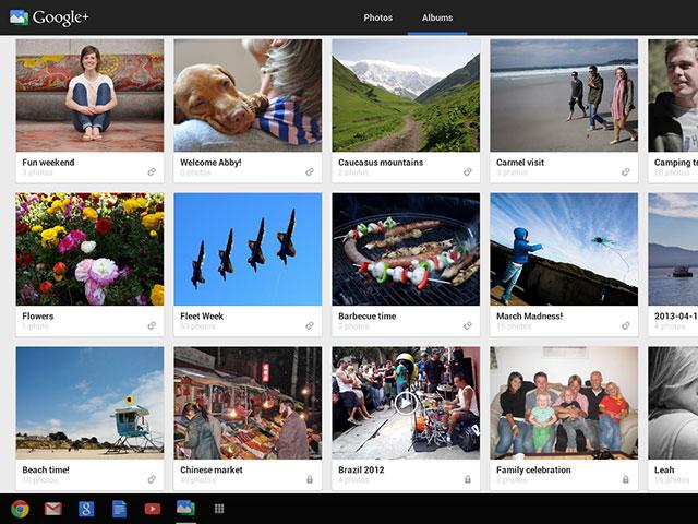 Google+ Photos : une troisième image