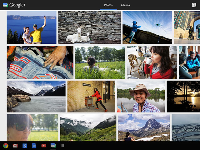 Google+ Photos : une quatrième image