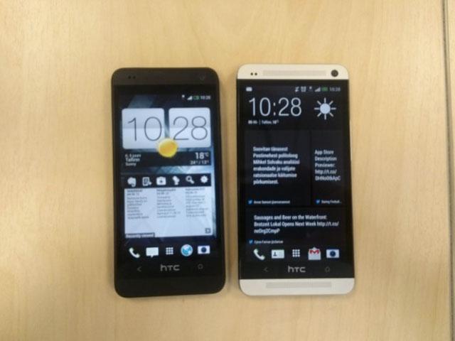 HTC One Mini : une quatrième image