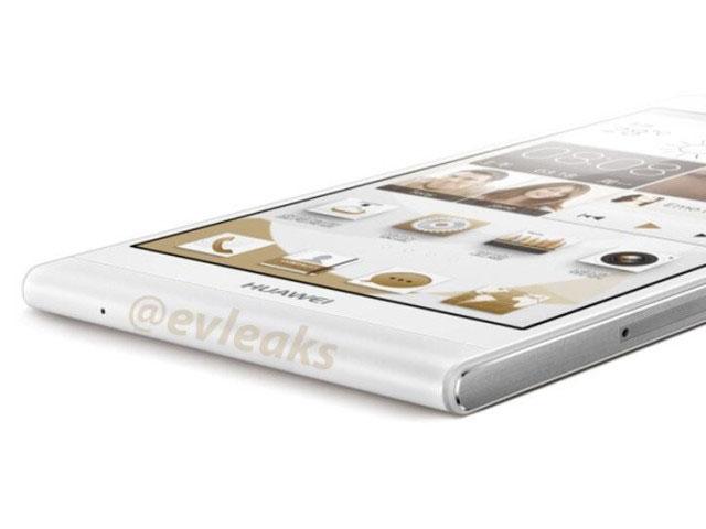 Huawei Ascend P6 : vue macro