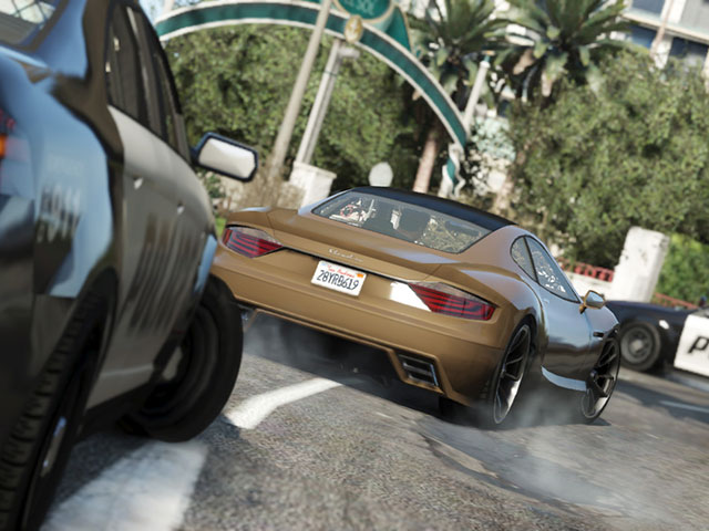 GTA 5 : course poursuite