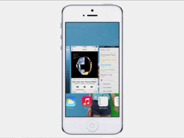 iOS 7 : le nouveau multitâche