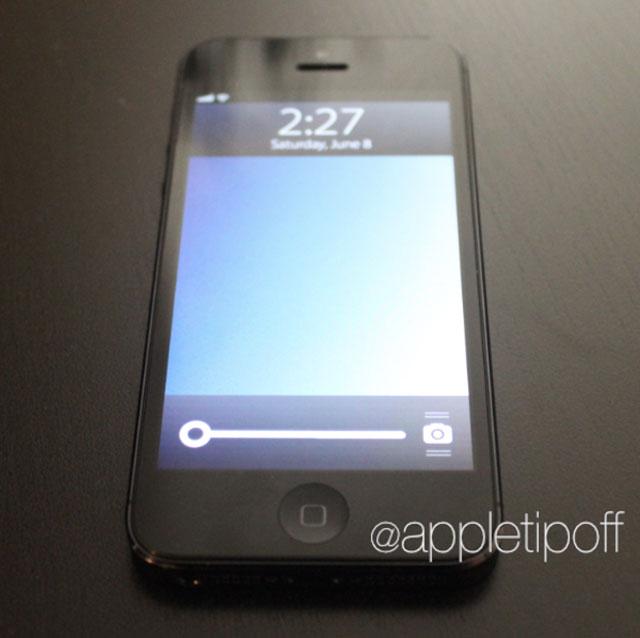 iOS 7 : l'écran de verrouillage