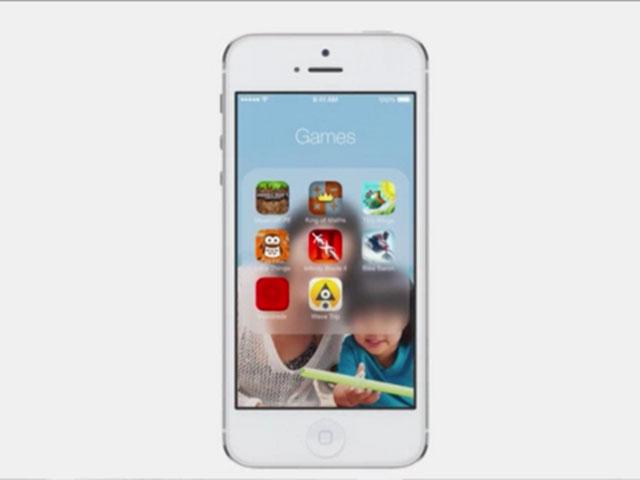 iOS 7 : les nouveaux dossiers