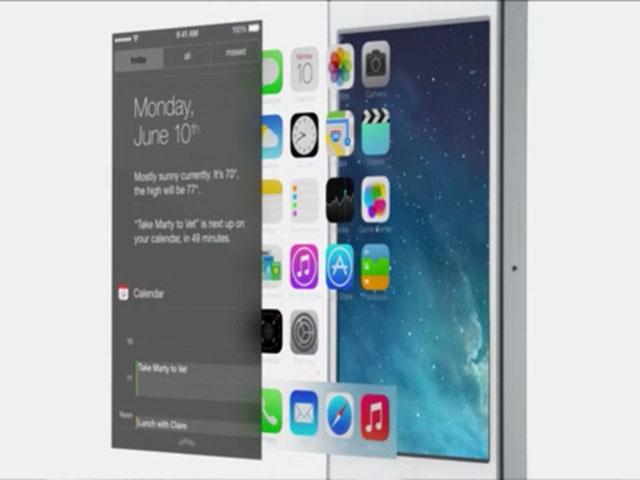 iOS 7 : le nouveau centre de notifications