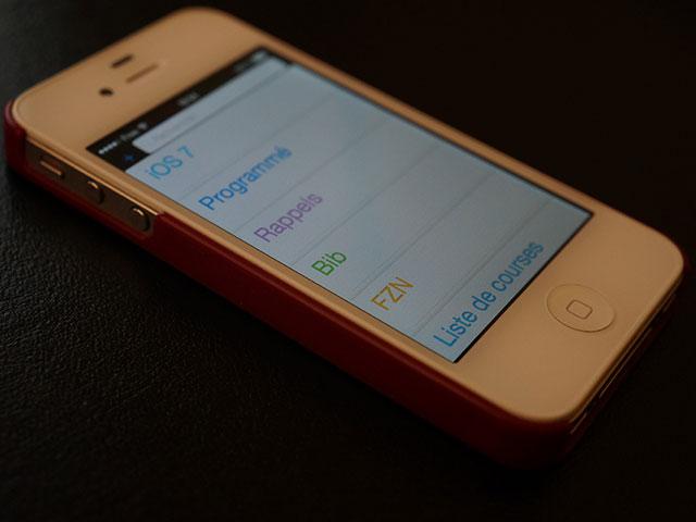 Rappel iOS 7 Vidéo