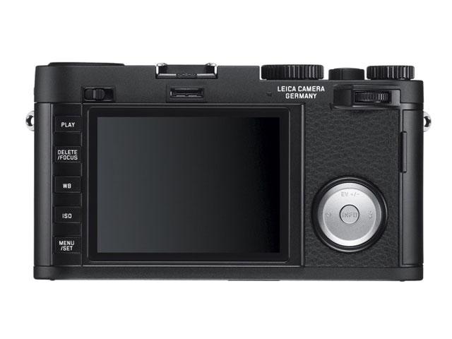 Leica X Vario : vu de dos