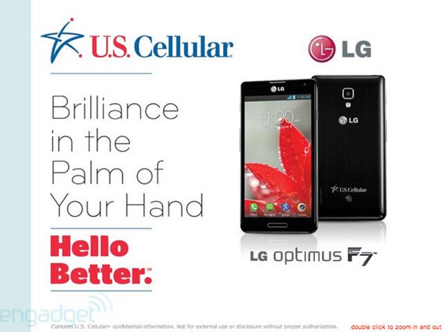LG Optimus F7 : une première image