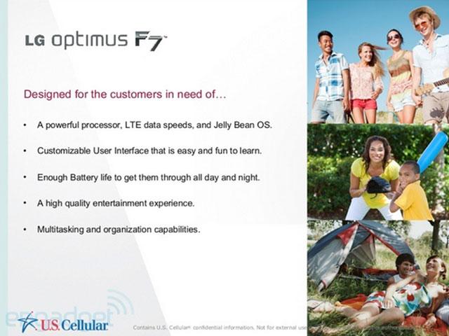 LG Optimus F7 : une seconde image