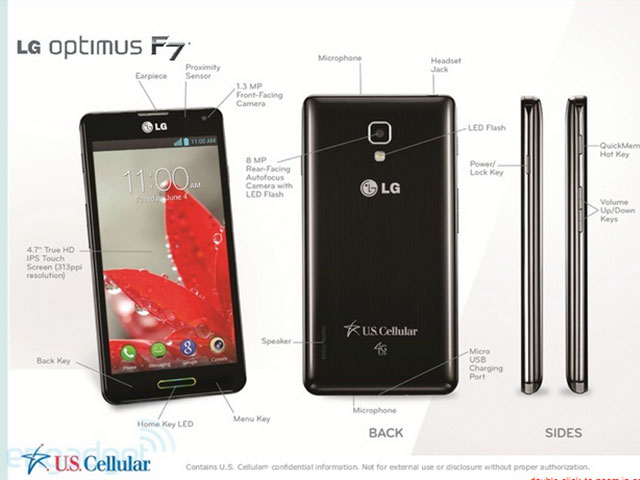 LG Optimus F7 : une troisième image