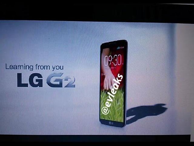 LG Optimus G2 : une première image