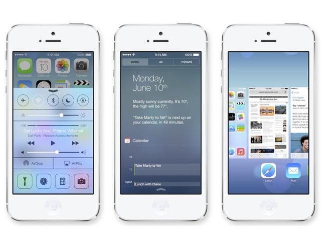 Limitations iOS 7