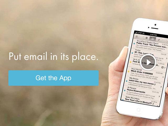 Nouvelle version Mailbox iPhone