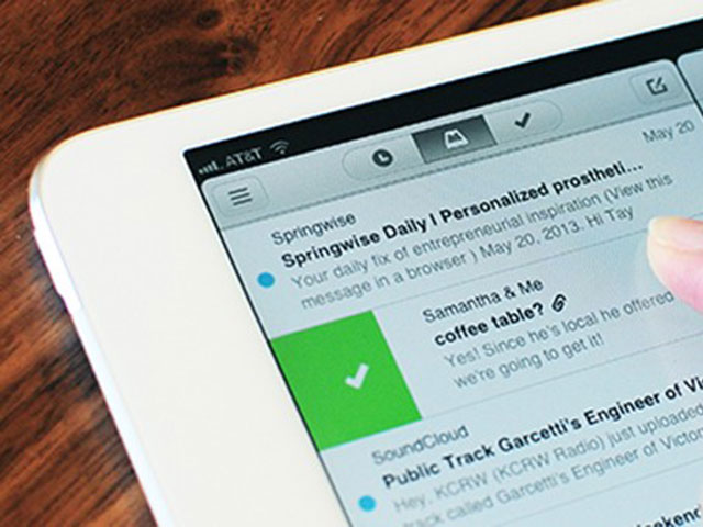 Mailbox bientôt sur Windows et OS X