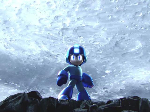 Mega Man dans Smash Bros. !
