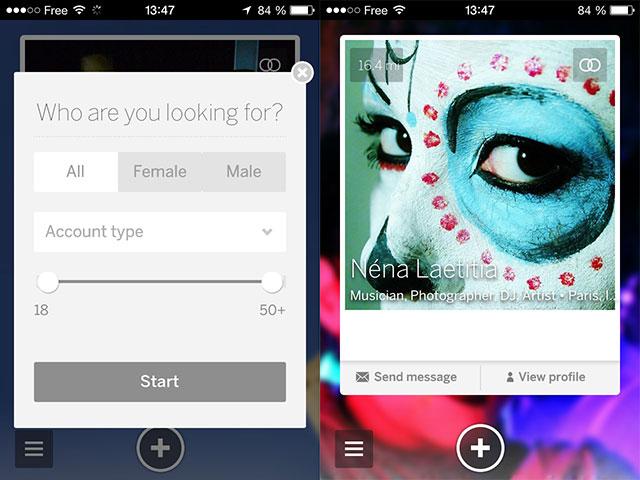 MySpace iOS : troisième capture