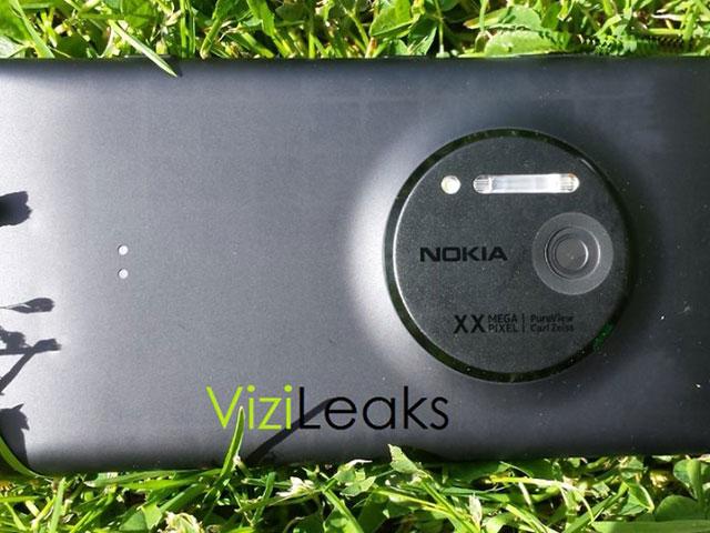 Nokia EOS : en pleine nature
