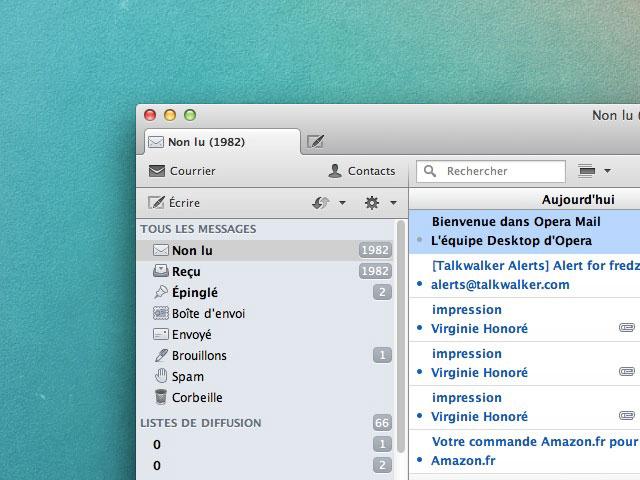 Opera Mail 1.1