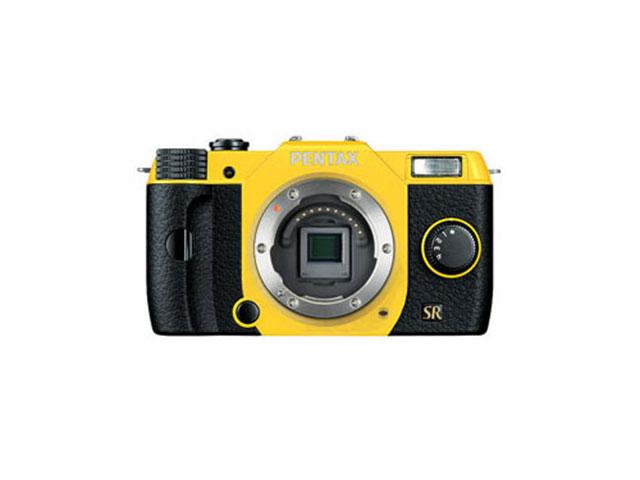 Photo Pentax Q7 en jaune