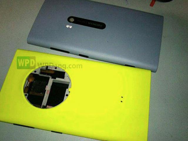 Photo coque arrière Nokia EOS 1