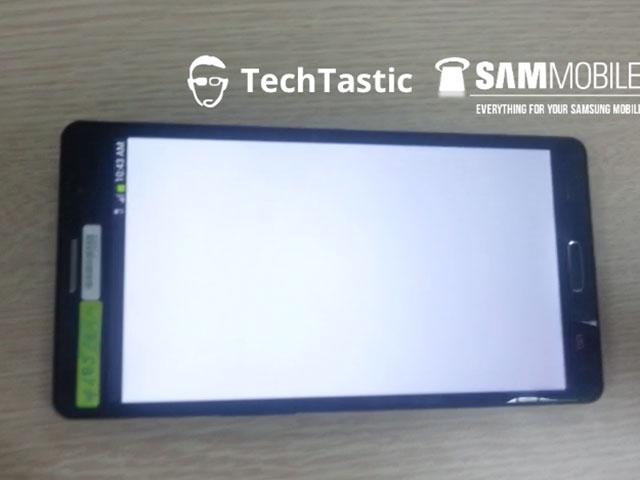 Samsung Galaxy Note 3 : un format rectangulaire