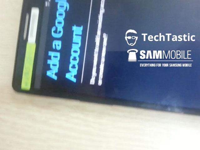Samsung Galaxy Note 3 : configuration du compte Google
